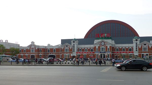 shenyang railway station liaoning province china